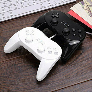 2020 Pro Gamepad For Nintendo Wii Second-generation Classic Wired Game Controller Gaming Remote Pad Console Joypad Joystick
