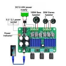 TPA3116D2 Power Digital Power Amplifier Board 2.1Channel Stereo Subwoofer 2*50W+100W Audio Amplifier Module wireless Speaker DiY