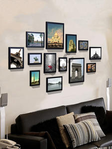 Wood Picture-Frames Wall-Hanging Home-Decor for with Classic 13pcs/Set