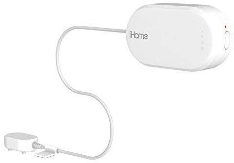 IHome ISB02 Battery Powered WI-FI Dual Leak Sensor, White