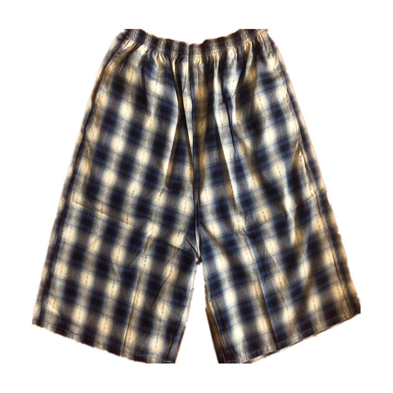 Summer Men's Cotton Plaid Beach Shorts Short Casual Booth Goods Supermarket Supply Of Goods Sports Household Products