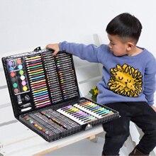 168 шт. набор для художников для рисования, детский набор для мальчиков и девочек, подарок на Рождество, день рождения, праздник