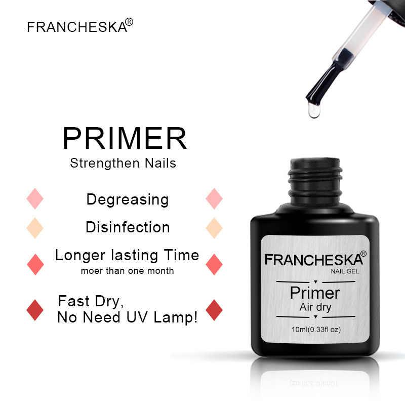 Francheska 10Mlเล็บDehydrator Fast Airแห้งน้ำยาทำความสะอาดเล็บเจลรองพื้นBalancingของเหลวรองพื้นเคลือบเงาเล็บ