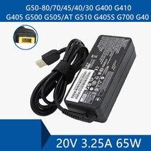 מחשב נייד מתאם AC DC מטען מחבר נמל כבל עבור Lenovo G50 80/70/45/40/30 G400 g410 G405 G500 G505/באופן G510 G405S G700 G40