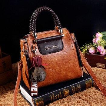 Vintage τσάντα pu δέρμα