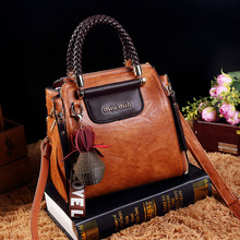 Ladies Tote Handbag Vintage Bags For Women 2019 Pu Leather Woman torebka damska Shoulder Hand Bag Crossbody Luxury Designer AB04