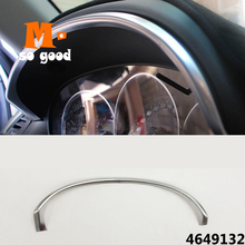 цена на ABS Matte For Mazda Cx-5 Cx5 Interior Instrument Dashboard panel Trim Cover Bezel Strip accessories 2012 2013 2014 2015 2016
