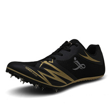 Sneakers Spikes Athletic-Shoes Track Field And Nail Men Wearable Race-Jumping D0870 37-44