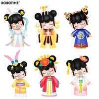 Robotime Osten Asien Palace Aktion Spielzeug Figur Modell Puppen Exotische spezielle Geschenk für Kinder, Kinder, Erwachsene