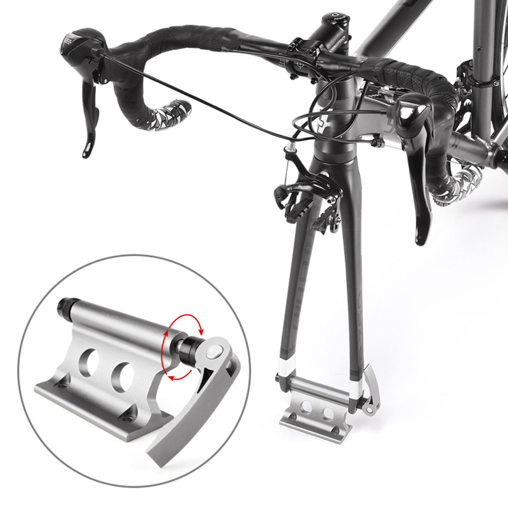 Bicycle Car Roof Rack Carrier Quick-release Alloy Fork Lock Mount Rack