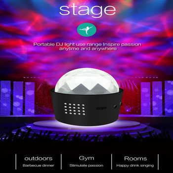 USB Sound Control Stage Light 3W RGB Disco Light Beam Party Light Car LED Portable Flash Light Christmas Party Strobe Light 3w 30 led strobe rgb light christmas tree style decorative string light 220v 2 round pin plug