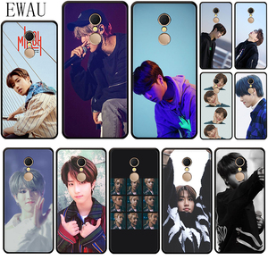 EWAU Han Jisung Stray Kids Printed Silicone phone case for Xiaomi Redmi 8A 4A 4X 5 plus 5A 6 pro 6A 7 7A S2 GO K20 pro