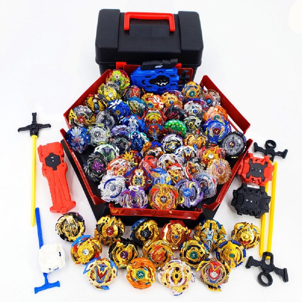 Novo estilo explosão lançadores beyblade arena brinquedos venda bey lâmina explosão bayblade bable dreno fafnir phoenix blayblade