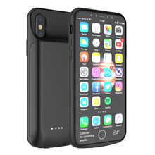 For iPhone X iPhone Xs Battery Charger Case 5000mAh External Backup Charger Power Bank Protective Cover For iPhone X XS Coque