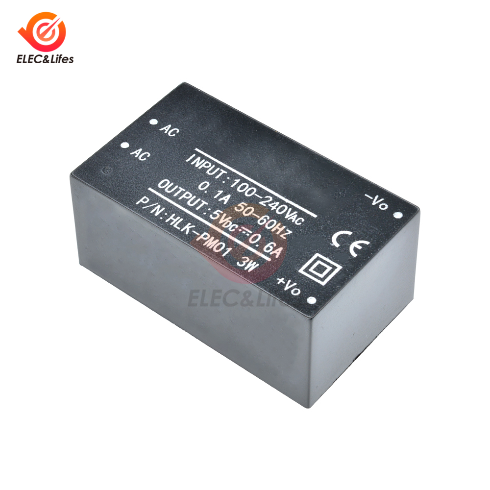 HLK-PM01 HLK-PM03 HLK-PM12 Step Down Power Supply Module 220V to 3.3V//5V//12V