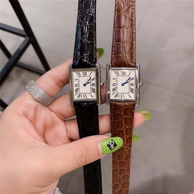 Closeout DealsßWatch Authentic Gifts Square Fashion Strap Movement New-Series≥