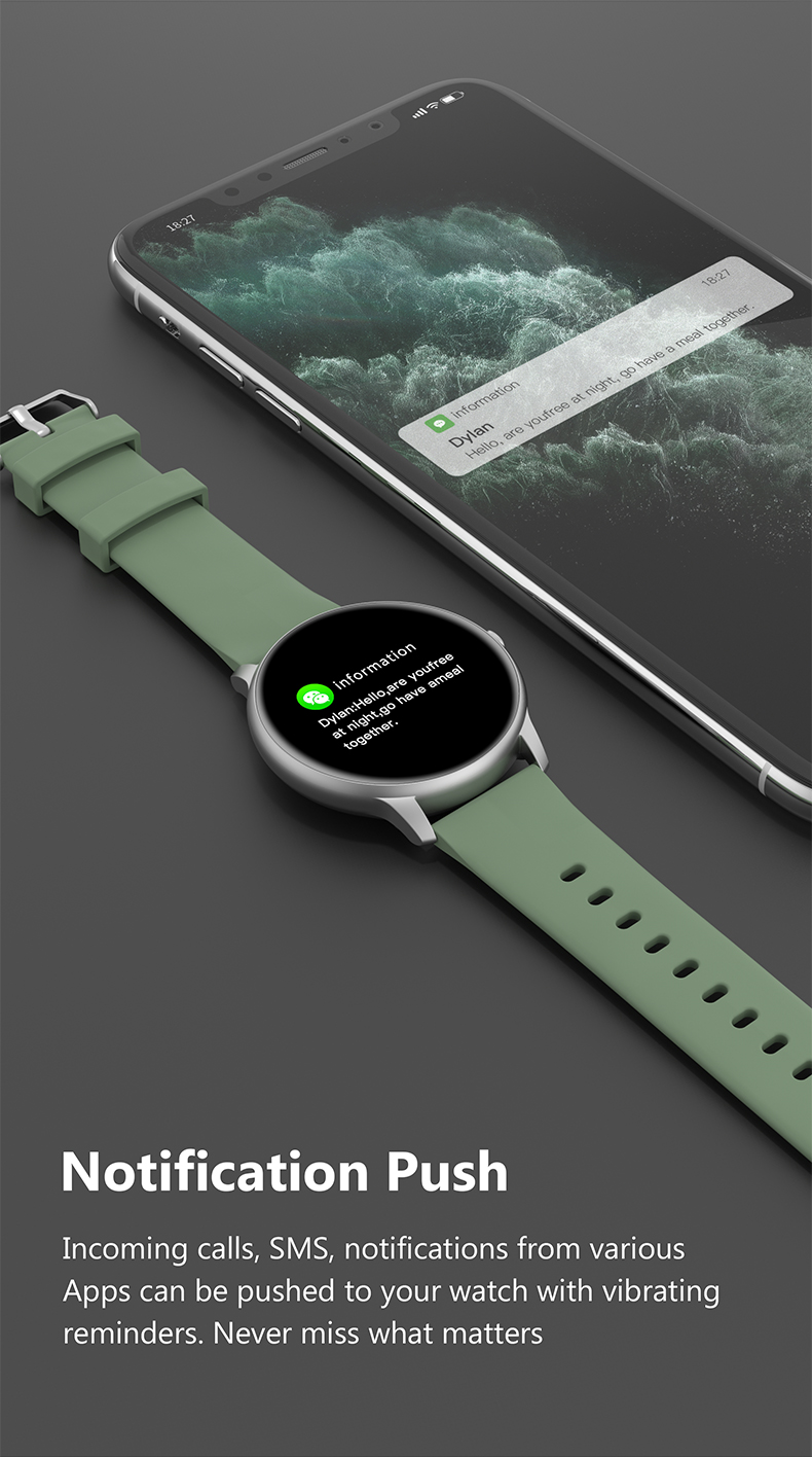 Xiaomi IMILAB KW66 Smartwatch 6