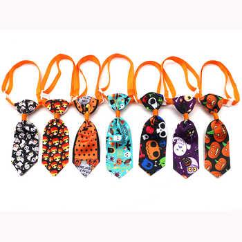 New 100ps Halloween Pet Grooming Supplies Detachable Pet Dog Necktie Samll Dog Cat Pet Puppy Christmas Halloween Ties Bowties - DISCOUNT ITEM  10% OFF All Category