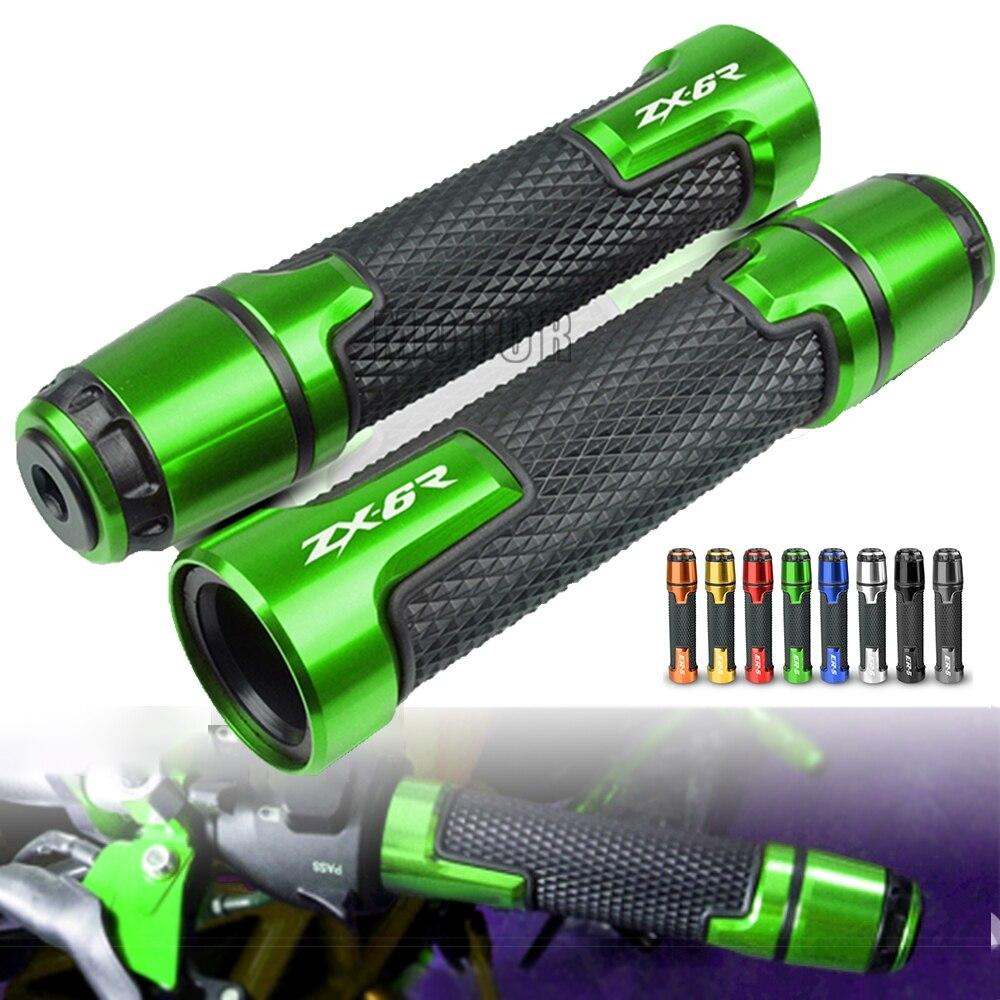Рукоятка для руля мотоцикла Kawasaki ZX6R 2000-2014 2001 2002 2003 2004 2005 2006 2007 дюйма 22 мм