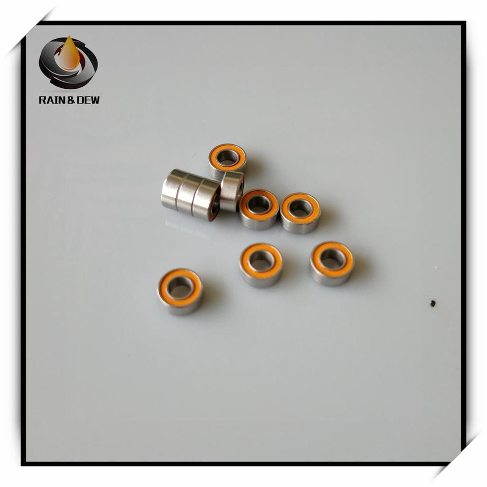New  2pcs SMR63C-2OS(3*6*2.5)Stainless steel hybrid ceramic ball bearings