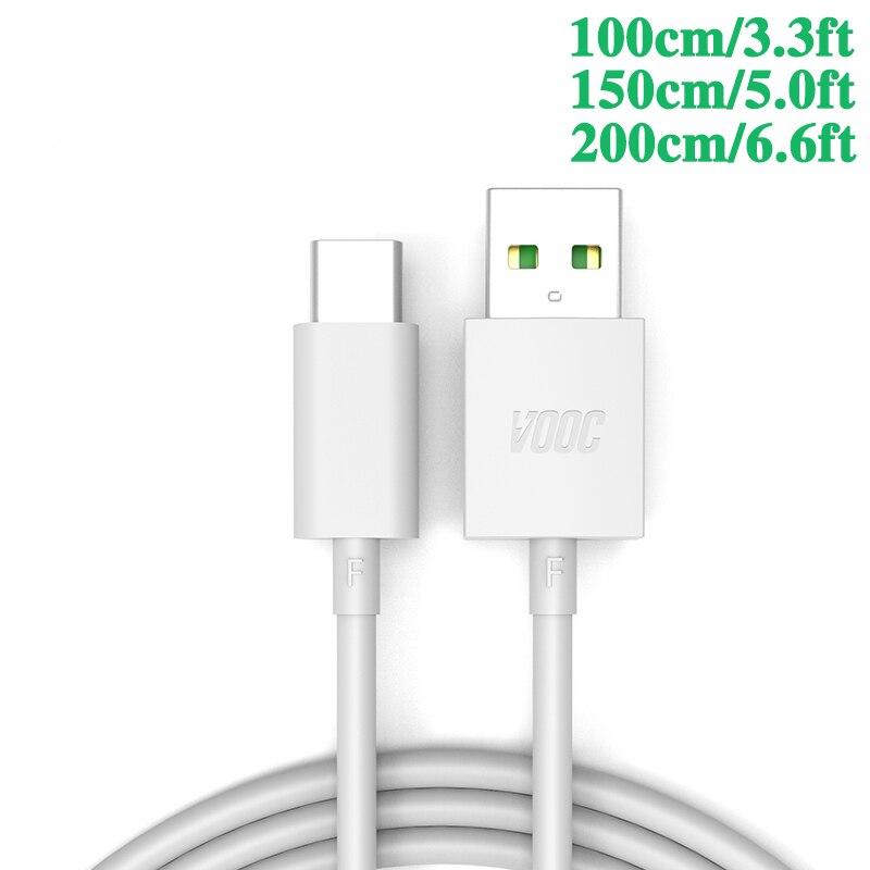 3.3ft 4a cabo do carregador para oppo encontrar x r17 pro reno cabo do carregador do telefone móvel vooc