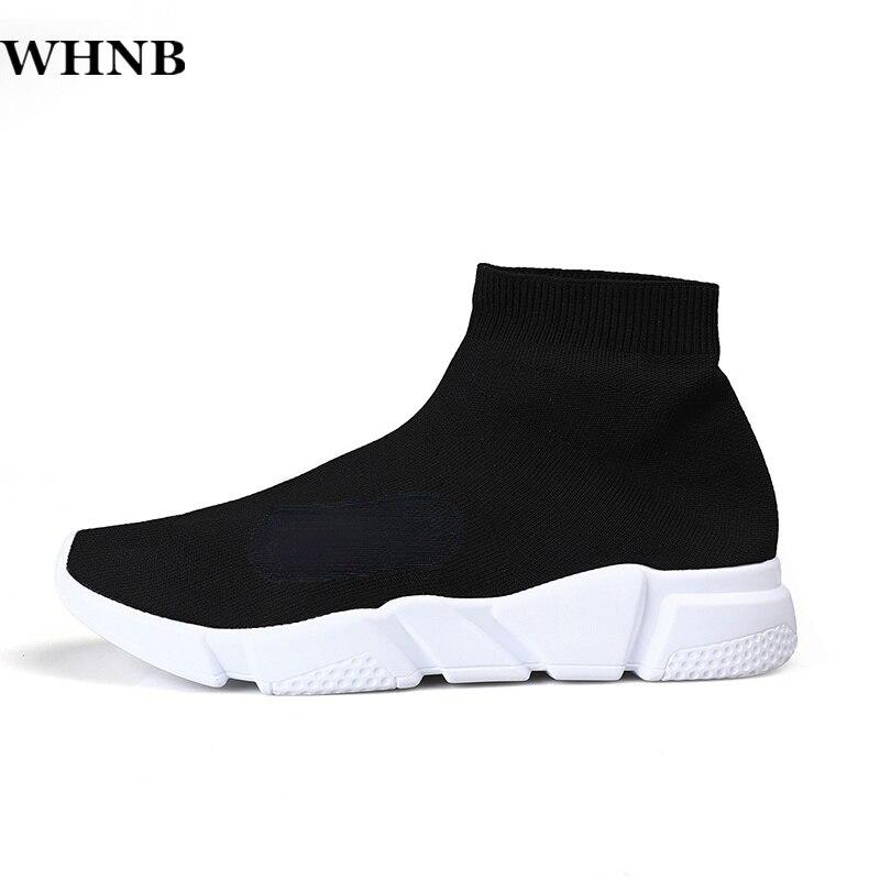 Новые модные мужские осенние носки WHNB, дышащие мужские кроссовки, мужские повседневные кроссовки