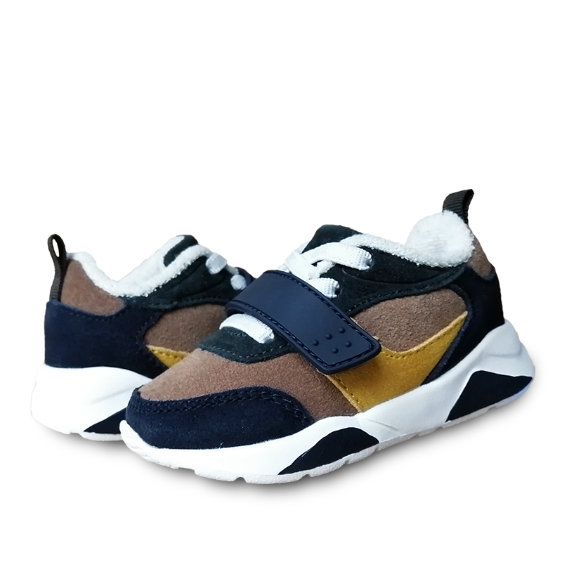 FASHION 1pair Kid baby Genuine Leather Children's Sneakers Boy/girl Shoes, Cheap Sport Shoes