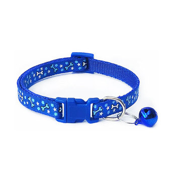 Dog High Quality Dog Collar With Bell Puppy Cat Neck Strap Ring Adjustable Pet Dogs Collar Comfortable Pet Dog Accessories image
