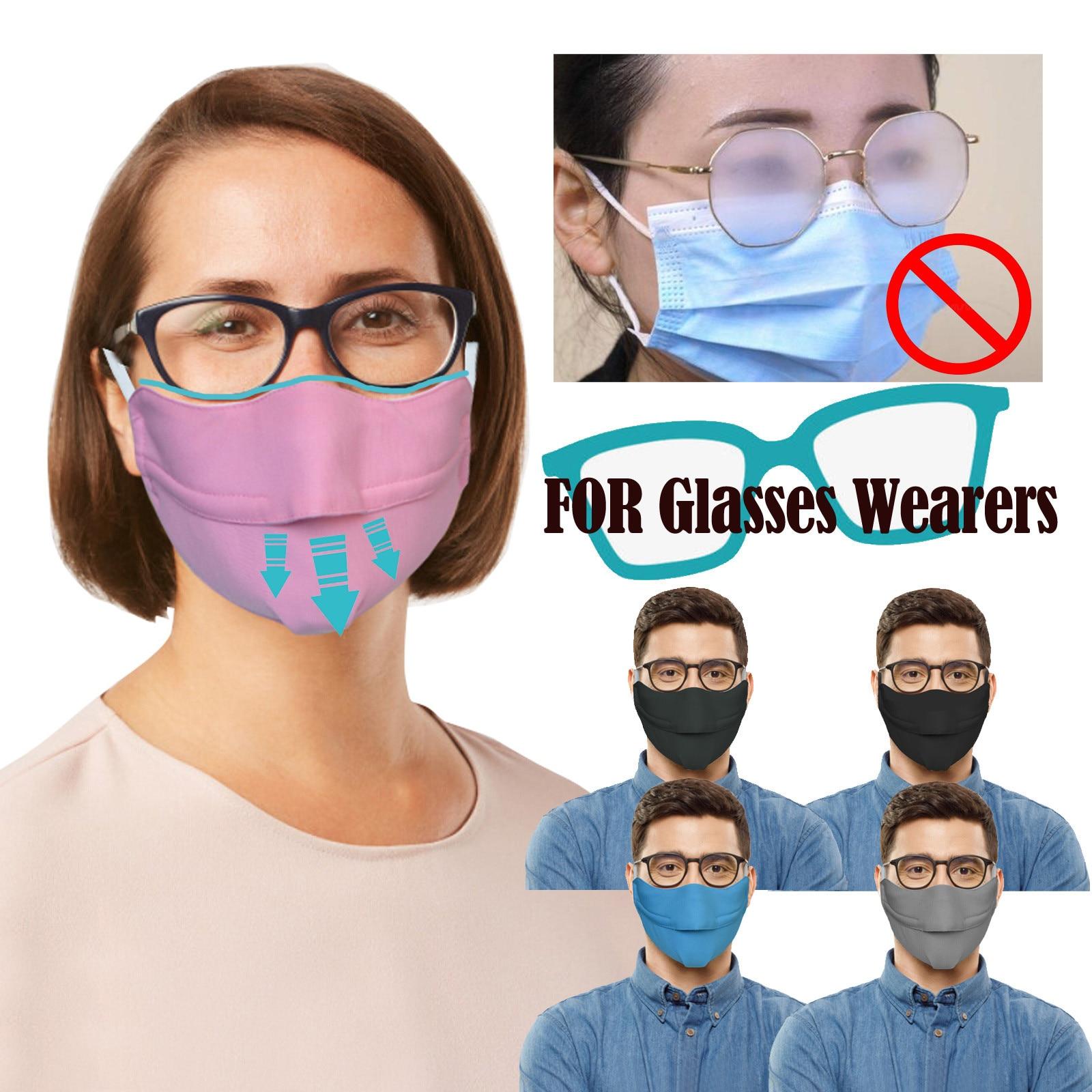 Многоразовая маска для рта маска для лица из дышащего материала моющиеся колпачки для рта защитная маска для взрослых для людей, держащих очки, предотвращают запотевание|Женские маски|   | АлиЭкспресс