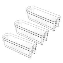 6-Food-Storage-Bins with Freezer-Cabinets Refrigerator of for Pantry-Organization-Storage