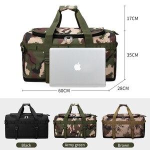 Image 5 - Männer Handtasche Große Kapazität Reisetasche Mode Schulter Handtaschen Designer Männliche Umhängetasche Lässig Crossbody Reisetaschen XA162K