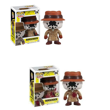 FUNKO POP WATCHMEN RORSCHACH Vinyl Model Action Figures Collection Model Toys for Birthday Party Gifts 1