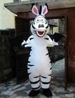 Zebra Mascot Costume...
