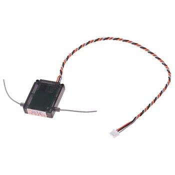 Mini DSMX DSM2 odbiornik satelitarny 7CH RM601X dla nadajnika JR, stabilny sygnał,.