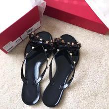 2021 wommen buty projektant sandały damskie buty modne klapki nit platforma Slide Lady Fashion Studded sandał z pudełkiem