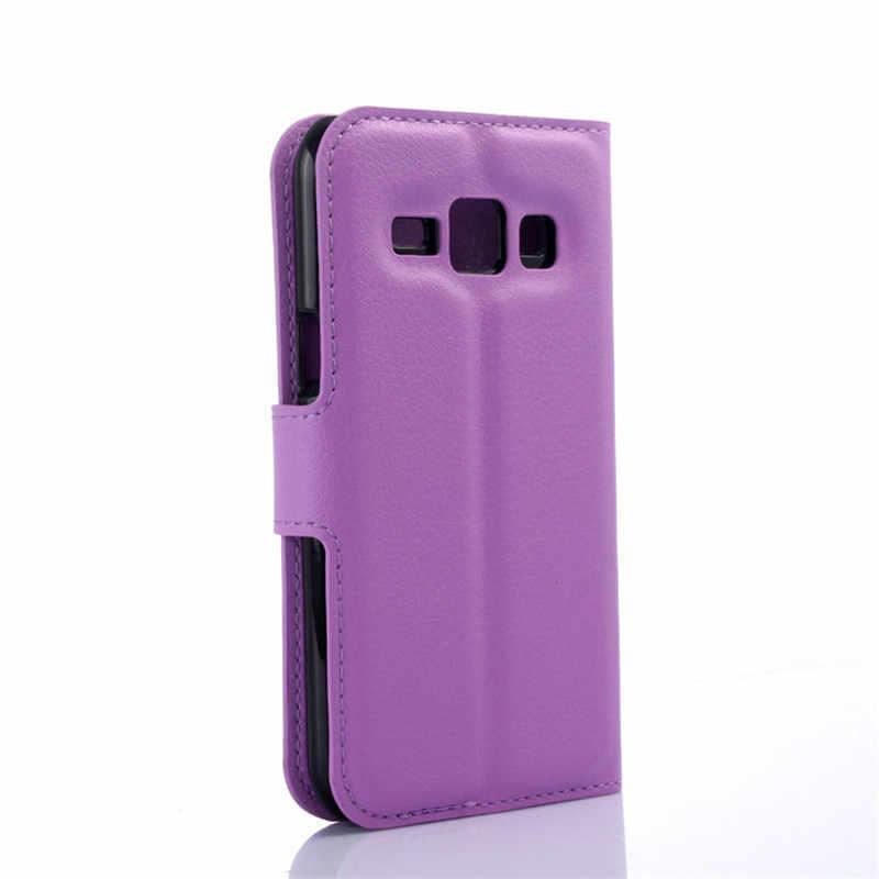 Для samsung Galaxy J1 чехол флип чехол samsung J1 2016 кожаный чехол для samsung J1 2016 J120F/J1 2015 J100 Coque