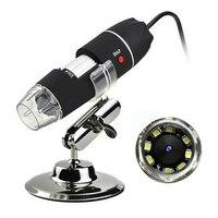 1000X Zoom HD 1080P mikroskop usb cyfrowe szkło powiększające endoskop kamera wideo z 8 led spełniają różne potrzeby przemysłowe w Mikroskopy od Narzędzia na