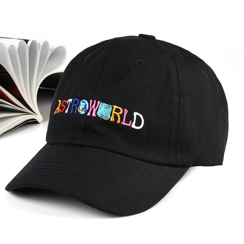 XaYbZc latest album ASTROWORLD Dad Hat 100% Cotton High quality embroidery Astroworld   Baseball     Caps   Unisex Travis
