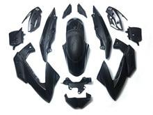 Frente carenado completo carenado sombreretes para Yamaha XJ6 2009-2012 Color de fibra de carbono 15 Uds