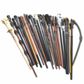 24 Styles Wands Props Metal Core Toys Halloween Christmas Party Gifts Children's Cosplay Adult Magic Stage