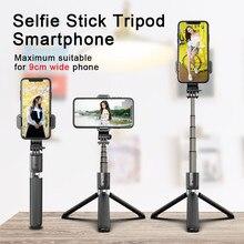 Bluetooth kablosuz telefon Selfie sopa Tripod evrensel uzatılmış uzatılabilir akıllı telefon alüminyum Iphone Huawei Xiaomi