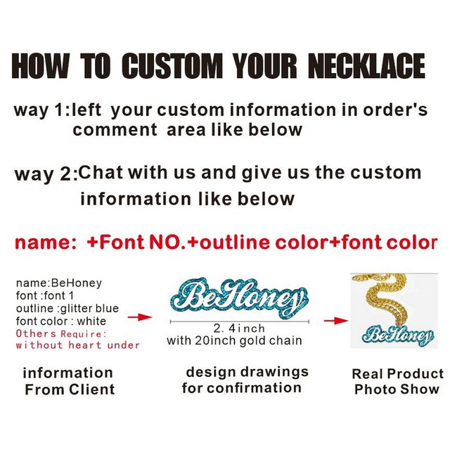 Child's Custom  Baby Name Necklaces Women Kids Gifts Personalized Nameplates Acrylic laser Cut Jewrlry 4