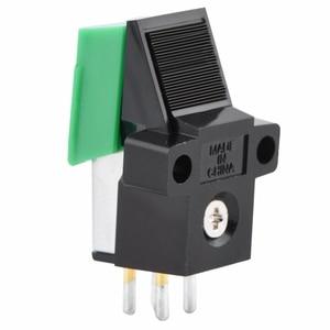 Image 4 - Gramofone antiestático de fibra carbono record player stylus 13mm pitch registro cartucho vinil stylus agulha para at95e vinil registro p