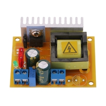 цена на DC-DC 8~32V To 45~390V High Voltage Boost Converter ZVS Step-up Booster Module