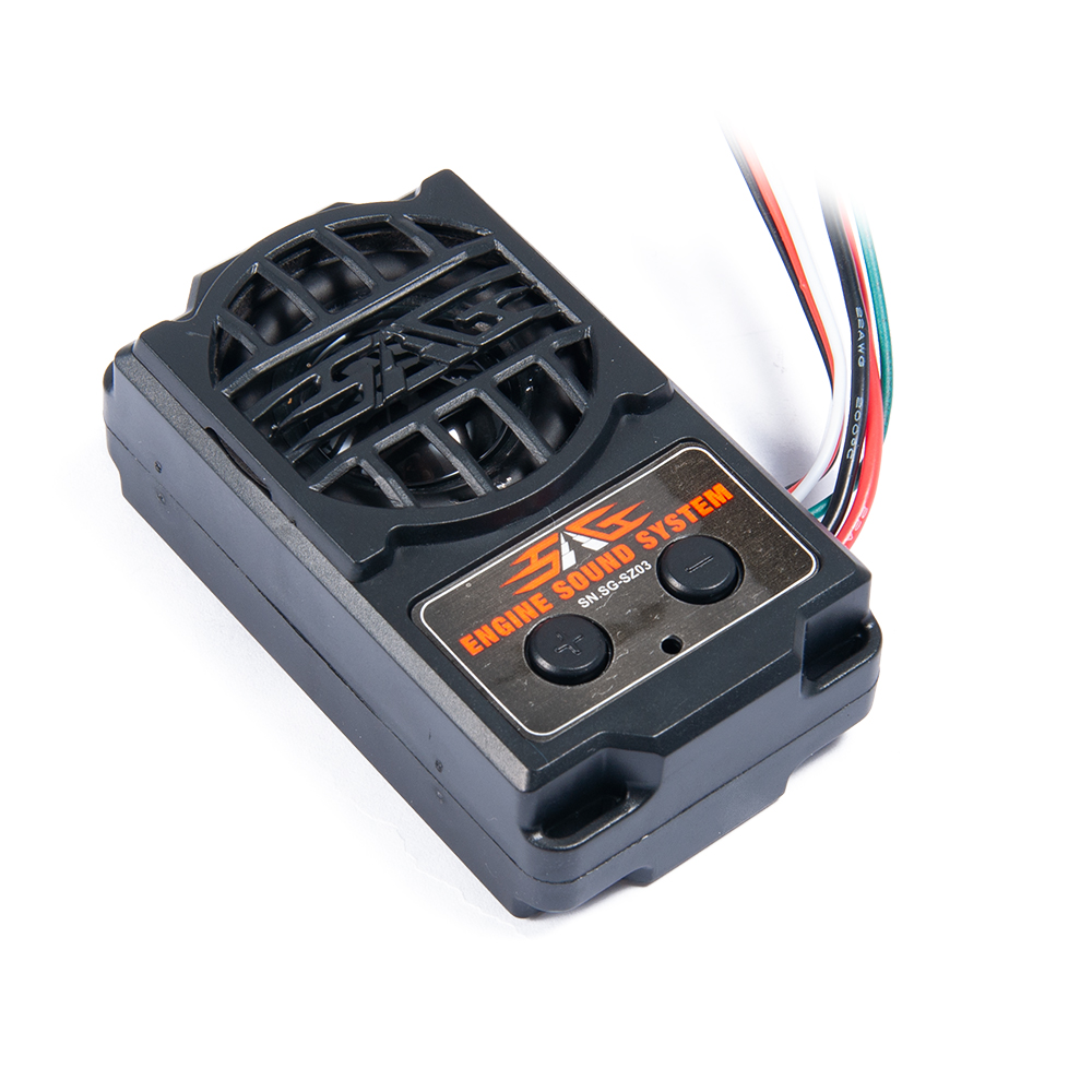 Engine Sound Simulator 5 Styles Sound Mode 72x42x25mm RC Car Engine Sound for 1/10 RC Model Car Crawler Truck On Road