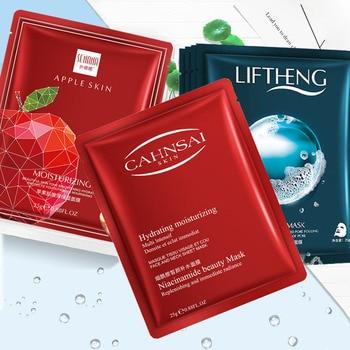BIOAQUA Hyaluronic Acid Snail Moisturizing Face Mask Anti Aging Whitening  Replenishment alginate mask korean Skin Care цена 2017