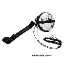 цена на Children Soccer Training Sport Assistance Adjustable Football Trainer Soccer Ball Practice Belt Training Equipment Football Kick