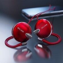 Q13 סטריאו וו אוזן ספורט אוזניות לטלפון חכם עם מיקרופון אוזניות HiFi ריצה אוזניות נפח שליטה אפרכסת