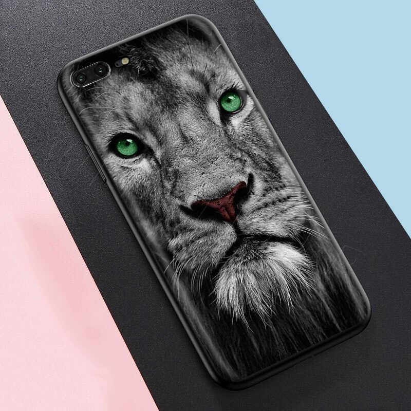 حافظة بتصميم أسد على الموضة من Webbedepp لهواتف أبل آيفون 11 برو XS Max XR X 8 7 6 6S Plus 5 5s SE