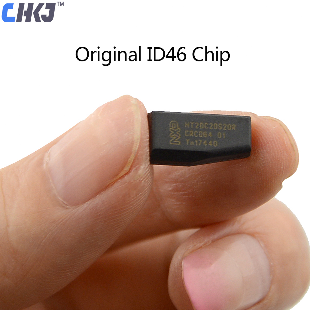 CHKJ 1PC Original ID46 PCF7936 Ceramic Blank Transponder Car Key Chip For Honda Hyundai Kia Mitsubishi Nissan Citroen Peugeot